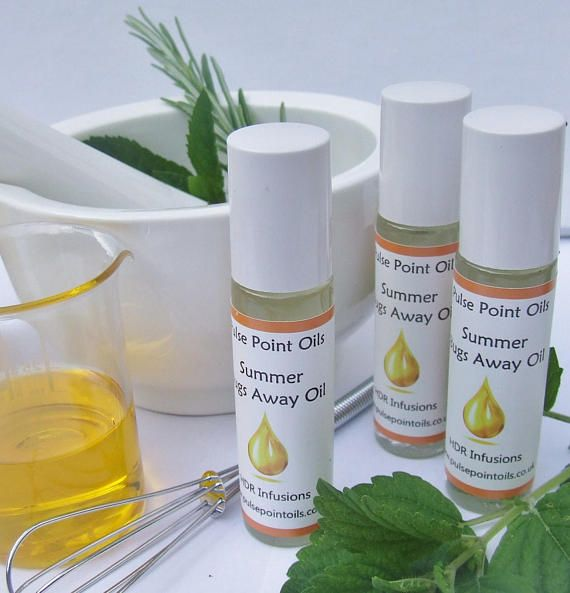 Summer Bugs Away natural insecticide. Insect repellant oil.