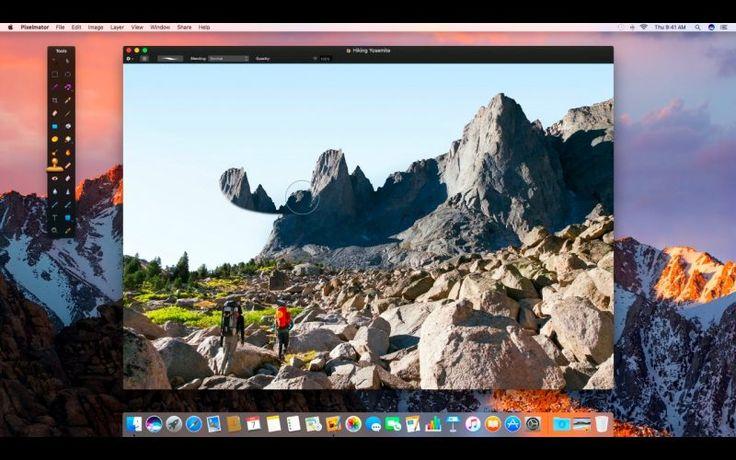 Pixelmator Primeste Tab-uri, O Noua Caracteristica Smart Refine si Suport pentru MacBook Pro si Touch Bar
