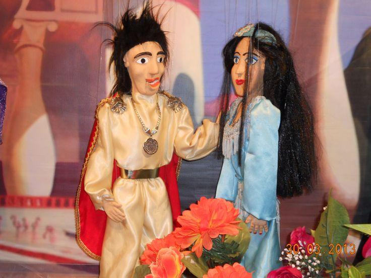 """Απο την Παράσταση: """"Ο Αλαντίν & το μαγικό λυχνάρι"""" του Θεάτρου Μαριονέτας """"ΓΚΟΤΣΗ"""" www.marionette.gr"""