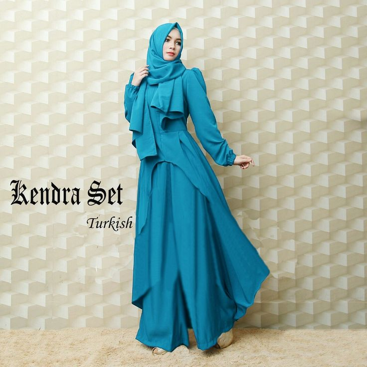 Baju Gamis Pesta Modern Kendra Set Turkish - https://goo.gl/vE29gt