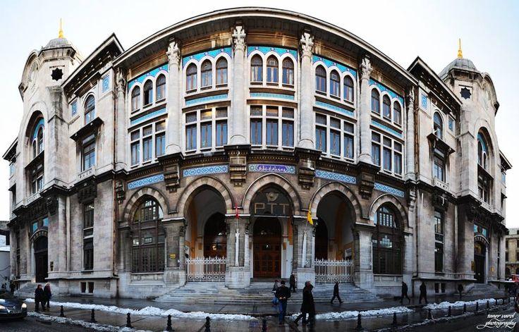 Post Office, Sirkeci, İstanbul, Turkey.