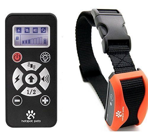 Best Shock Collar For Dogs by Hot Spot  Rechargeable Waterproof Dog Training