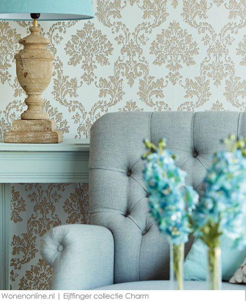 Eijffinger behang collectie Charm  #interieur #wonen
