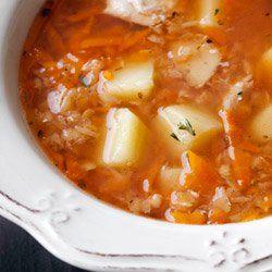 Zupa z soczewicą i ziemniakami | Kwestia Smaku