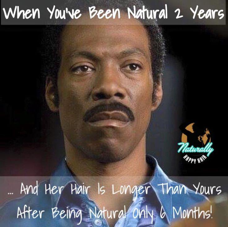 Natural Hair jokes! For Real! Like why your hair longer & thicker? Lol