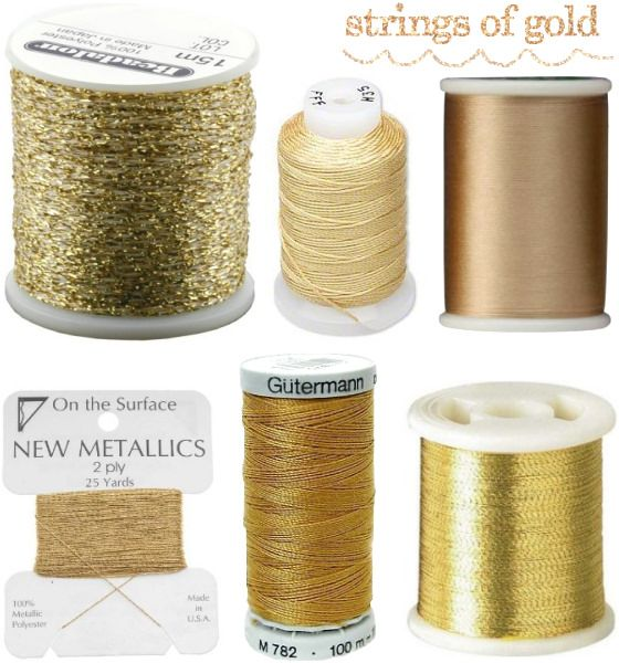 24 karat gold thread