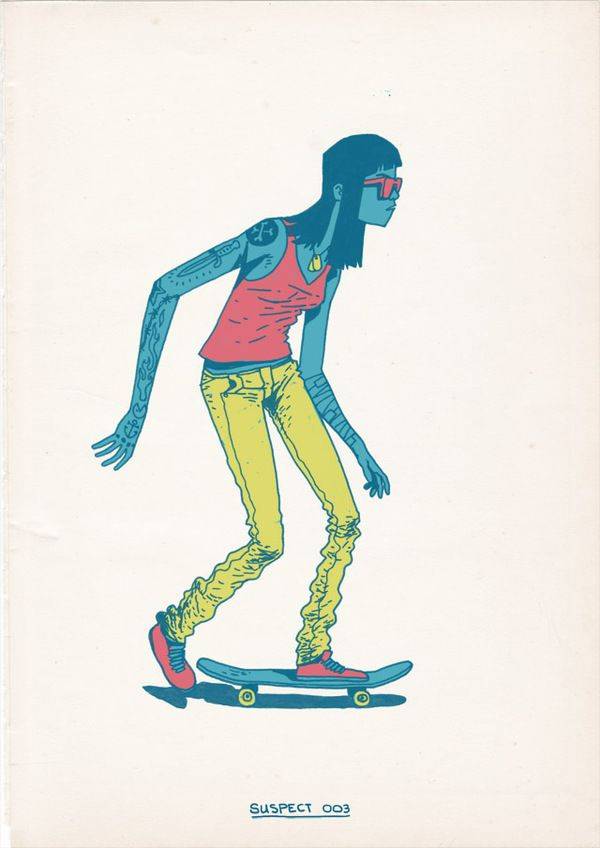 art. SKATEBOARDING IS A CRIME -   Fund raiser exhibition for building skateparks in Cape Town
