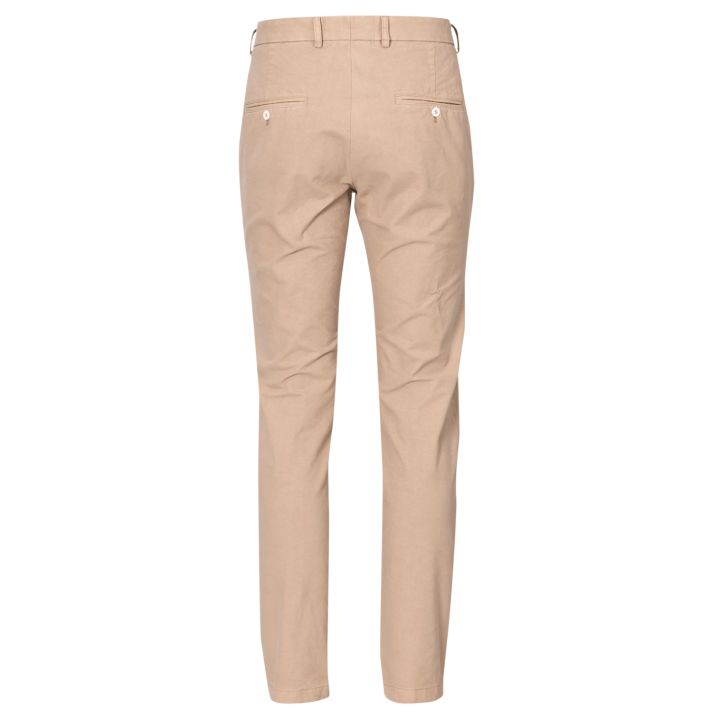 Oscar Jacobson - BO Trousers (Chinos) (Beige) (Rear View)