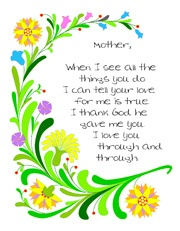 The 25 best Mothers day poems ideas on Pinterest Easy mothers
