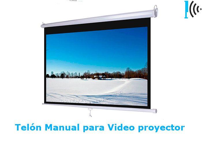 Mira Pantalla manuales para vídeo beam en nuestro portafolio en linea:  http://telonescolombia.com/Catalogo-de-pantallas-de-proyeccion-para-video-beam-Telones-Colombia.html