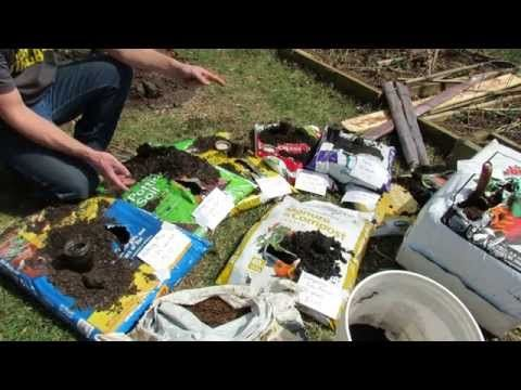▶ Basics on Buying Container Mixes: Potting Mix, Potting Soil, Garden Soil, Top Soils and Peat Moss - YouTube