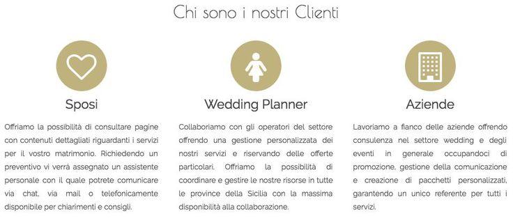 Chi sono i nostri clienti | MatrimoniSicilia.Net  #Wedding #sicily #matrimonio #sicilia #matrimonisicilia #destinationwedding #sicilywedding #married #weddingplanner #location
