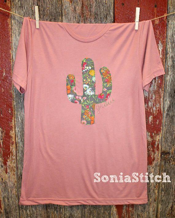 Cactus T-shirt Cactus shirt floral Grow shirt Boho