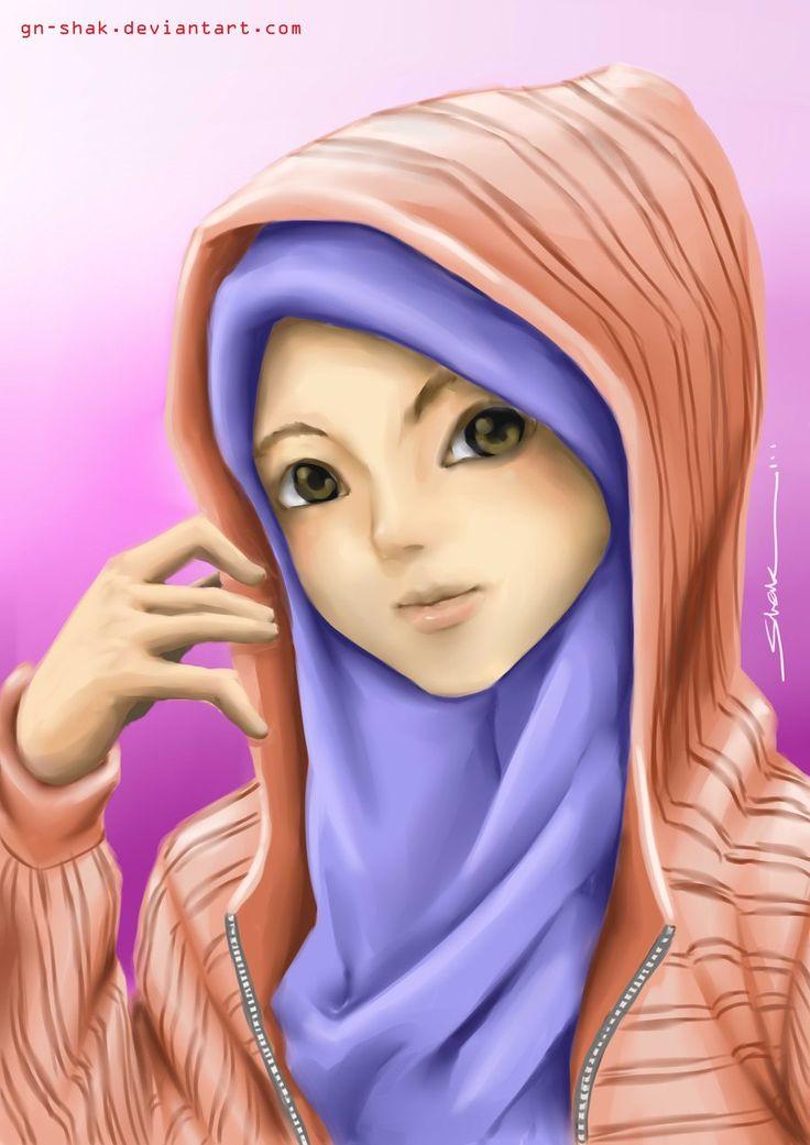 Muslimah by GN-SHAK.deviantart.com on @deviantART