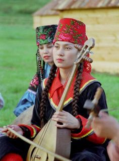 Two ladies from Altai Republic, Russia
