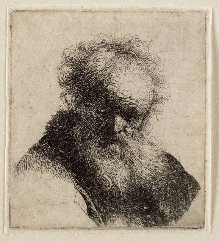 Mijn favoriete Rembrandt in Teylers Museum: Oude man met lange baard (B291)