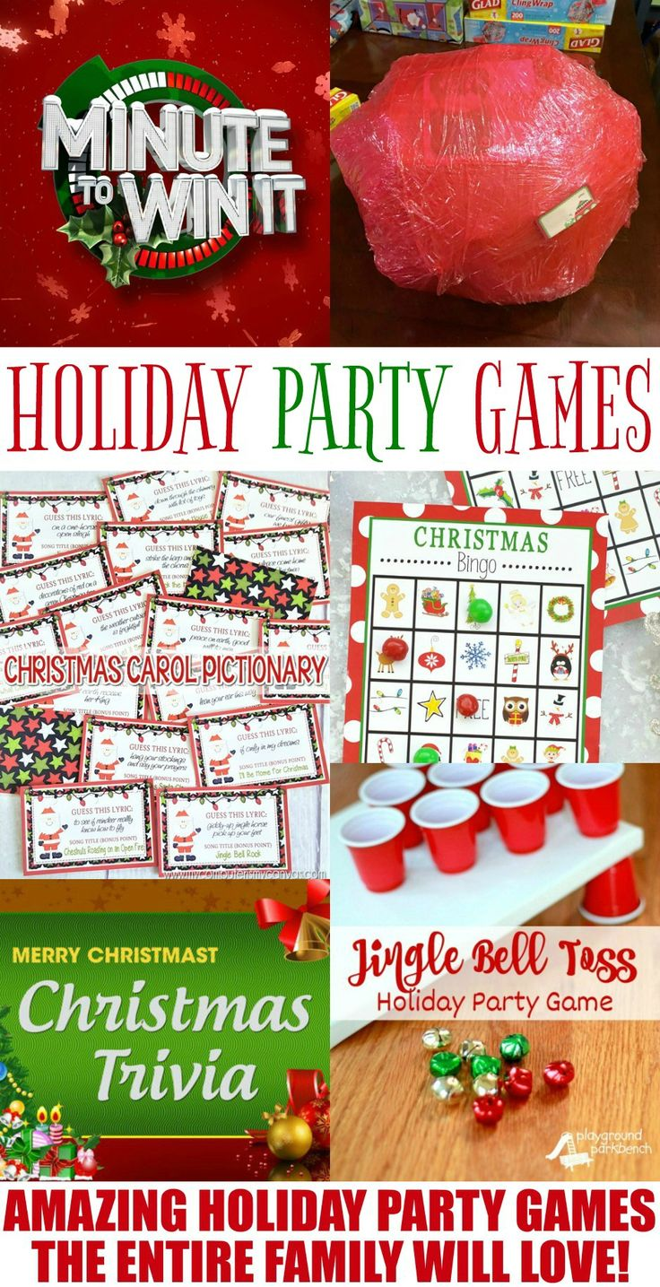 Holiday Games the entire family will love!