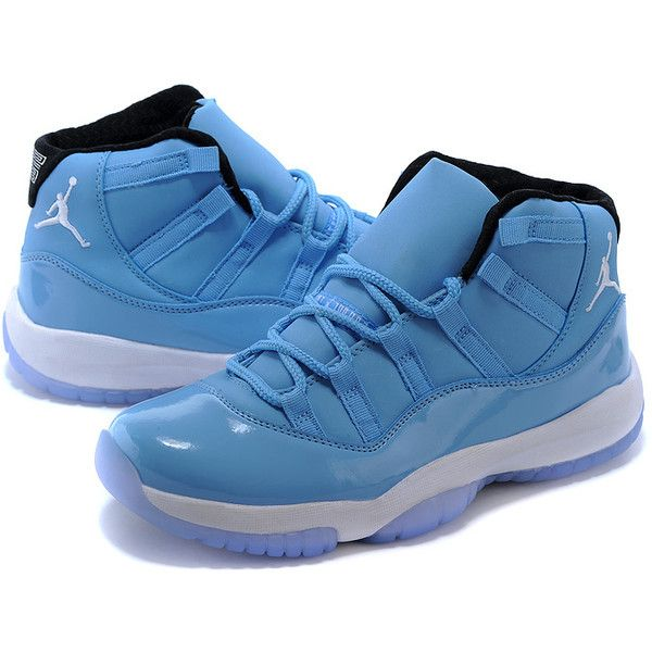 Cool Air Jordan 11 Shoes blue Places to go Basketball Shoes and... ❤ liked on Polyvore featuring shoes, blue, jordans and josh shoes