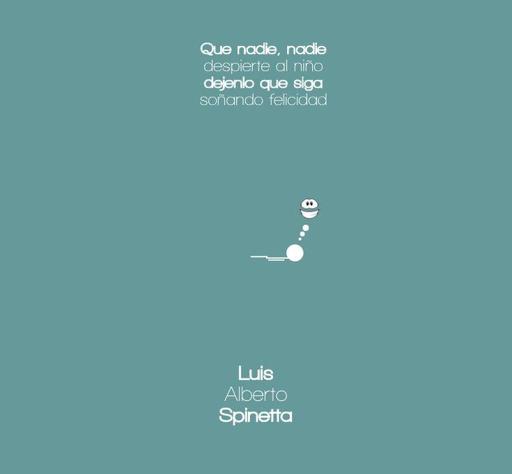 Frases de Spinetta en imágenes Minimalistas [Parte 2] - Taringa!