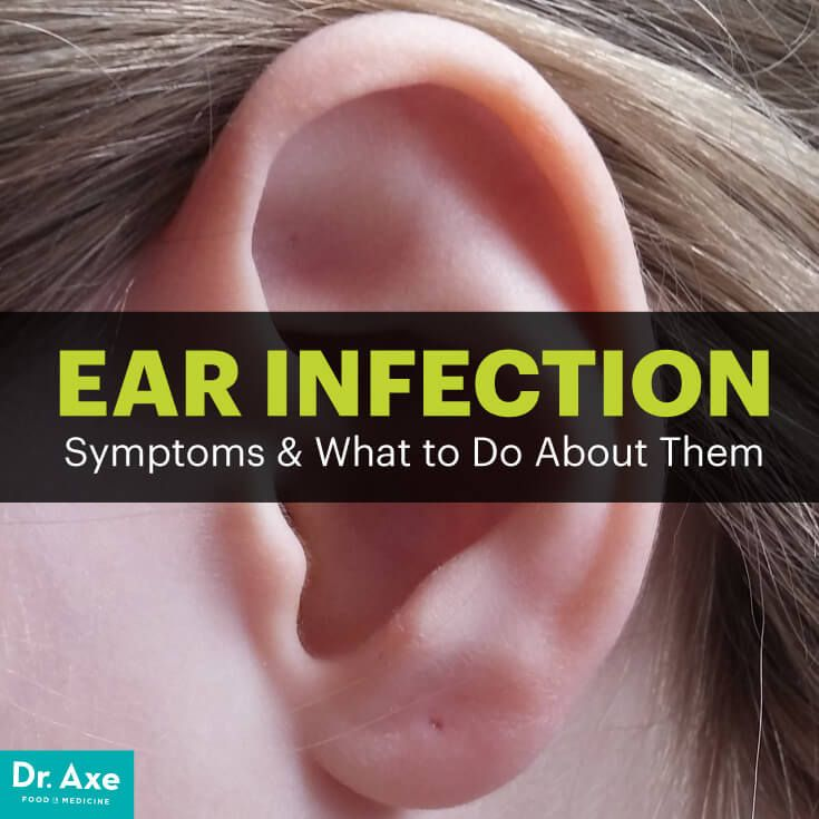 Ear infection symptoms - Dr. Axe  http://www.draxe.com #health #holistic #natural