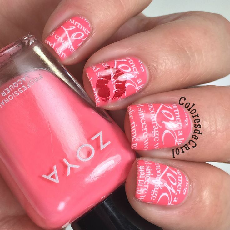 160 best Nails: Valentine Themed Nail Art images on Pinterest ...