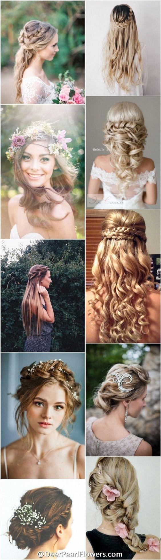 Plus de 1000 coiffures de mariage pour cheveux longs | www.deerpearlflow ... - #deerpearlflow # coiffures de mariage #long - #nouveau