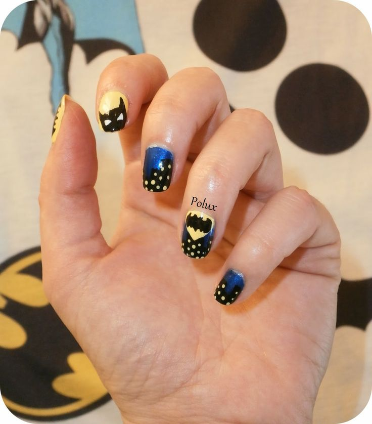 The 25 best batman nail designs ideas on pinterest batman nails the 25 best batman nail designs ideas on pinterest batman nails pretty nails and superhero nails prinsesfo Image collections