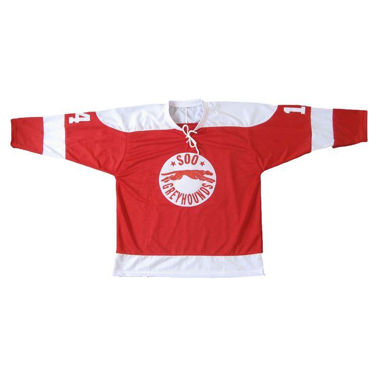 Want to purchase Wayne Gretzky 14 SOO Greyhounds Custom Made Hockey Jersey Uniform ? Visit http://laroojersey.com/hockey/Wayne-Gretzky-14-SOO-Greyhounds-Custom-Made-Hockey-Jersey-Uniform