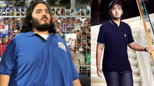"<p class=""MsoNormal"">Mukesh Ambani's son, Anant Ambani revealed a rather toned down version of himself at his 21st birthday bash, which saw the presence of India's most prominent names - including Salman Khan, Ranbir Kapoor, MS Dhoni AND Sachin Tendulkar. Anant apparently lost 108 kgs in just over 18 months following completely natural methods like strict dieting and exercising. The industrialist's son apparently would excersize everyday for 5-6 hours, doing yoga, cardio training, 21 km…"