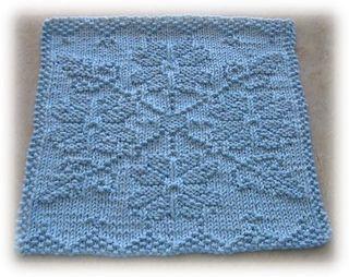Snow Crystal Cloth pattern by Alli Barrett