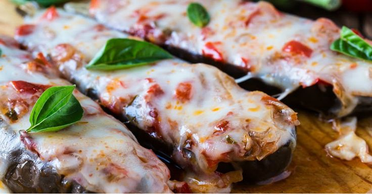 Oven-Roasted And Delicious, This Stuffed Eggplant Is The Perfect Weeknight Dinner