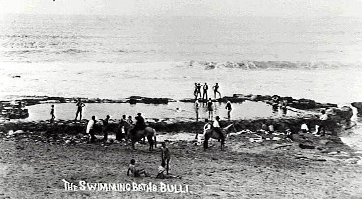 Bulli Baths circa 1905