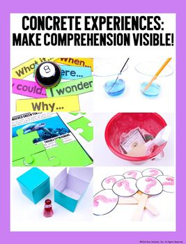 Concrete Comprehension: Questioning - Asking questions while we read is a critical component to comprehension. Activating questioning strategies during the reading process helps students monitor their comprehension, clear up confusion, engage curiosity, a