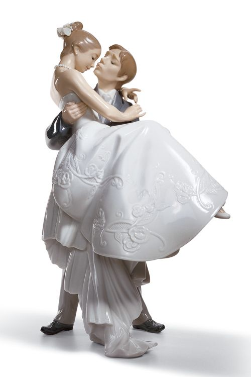 cake topper from lladró ♥