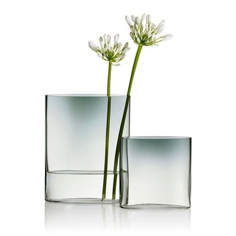 Ovalis by Tapio Wirkkala, 1959 for #Iittala. Only available in 2015. To honour the great designer for more than 400 objects in 40 years, #Iittala is highlighting some of the objects Wirkkala designed. Wirkkala's Ovalis vase highlights the optical qualities of glass. In honour of the centenary, Iittala will release a special-edition series of Ovalis vases in clear glass and gradient grey. The mouth-blown vase will bear an engraving to mark the centenary.