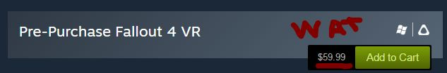 Are we really not going to talk about how Fallout 4 VR isn't going to be a free update on PC? #Fallout4 #gaming #Fallout #Bethesda #games #PS4share #PS4 #FO4