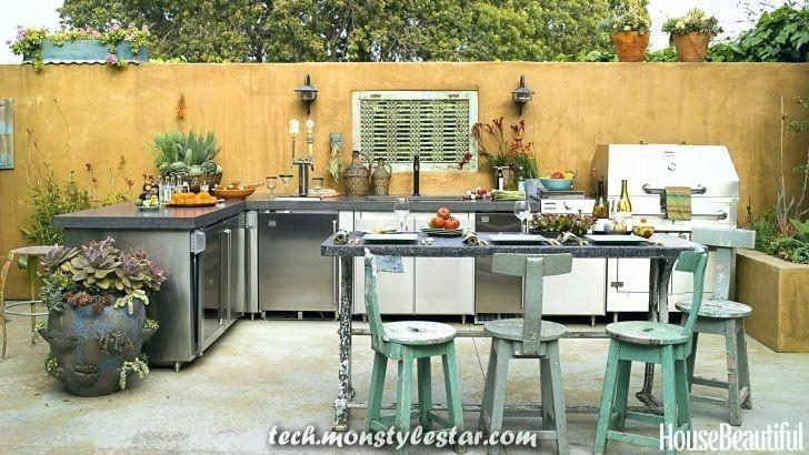 Luxuriöse Designkonzepte für Außenküchen