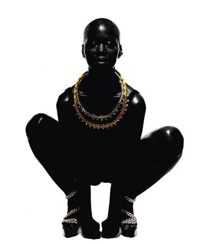 Nude Portraits of Black Models: Soul by Thierry Le Goués