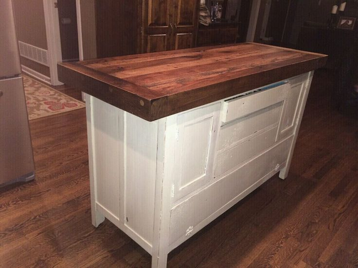 17 best images about barn wood kitchen islands we have for Small kitchen islands for sale