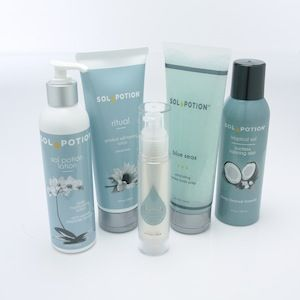 Sol Potion Sunless Skincare is essential to keeping a sunless tan lookin radiant and lasting longer. www.solpotion.com #solpotion, #spraytan, #sunless, #airbrushtan, #selftan, #selftanner, #selftanning