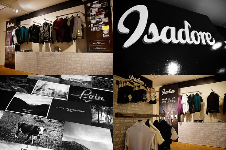 Isadore apparel international Shop-in-Shop - Velo Pavé #isadoreapparel #roadisthewayoflife #cyclingmemories #velo