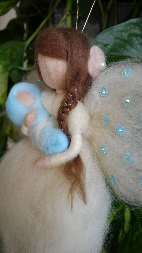 MAMY fairy maternity in carded wool