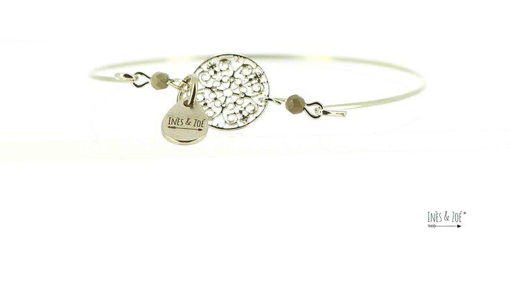 Bracelet Fantaisie Rhodium