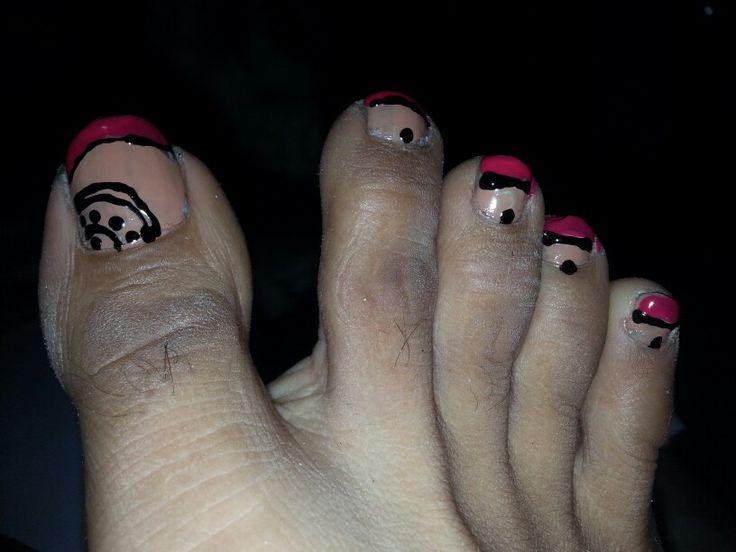 Nude, pink n black