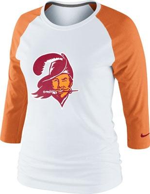 9fdfc48b0 ... where can i buy tampa bay buccaneers womens nike retro n long raglan  sleeve t shirt