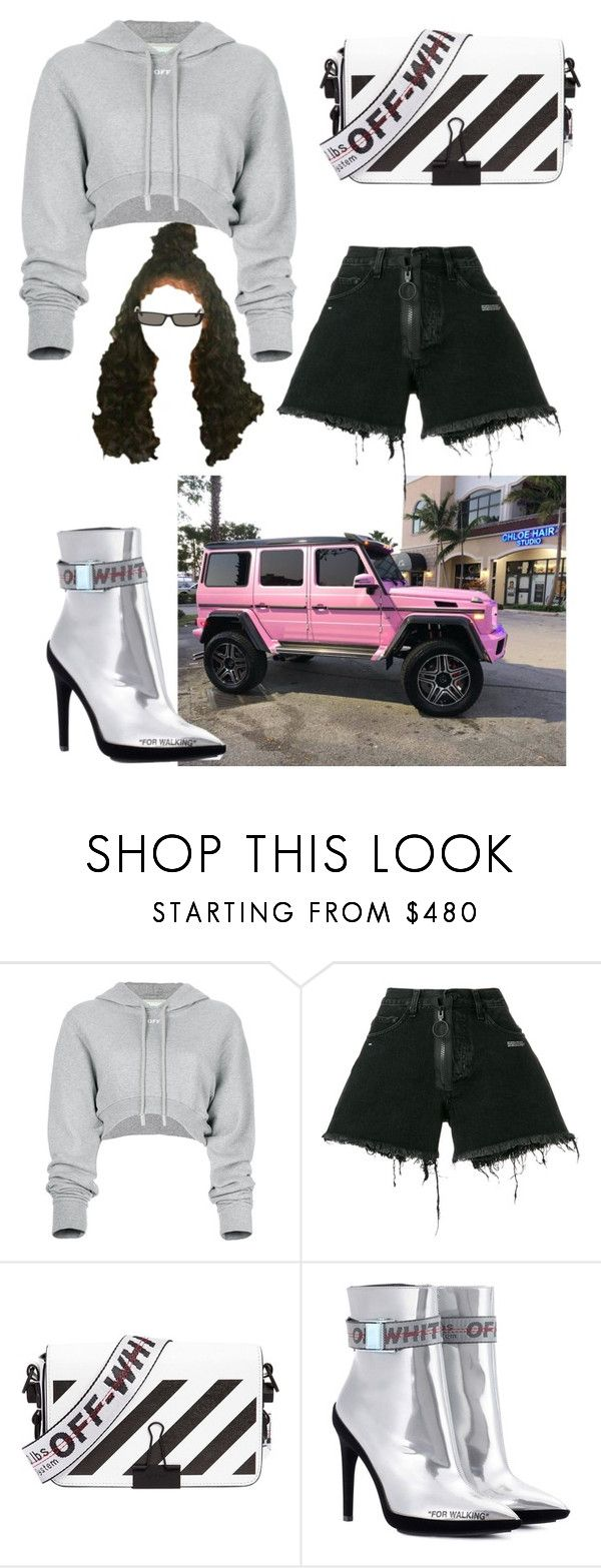 """G WAGON"" by dtdm ❤ liked on Polyvore featuring Off-White and Balenciaga"