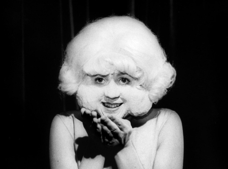 Laurel Near as The Lady in the Radiator in David Lynch's Eraserhead, 1977