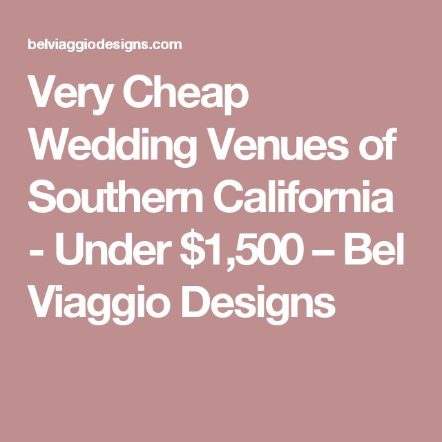 17 best ideas about cheap wedding venues on pinterest for Cheap local wedding venues