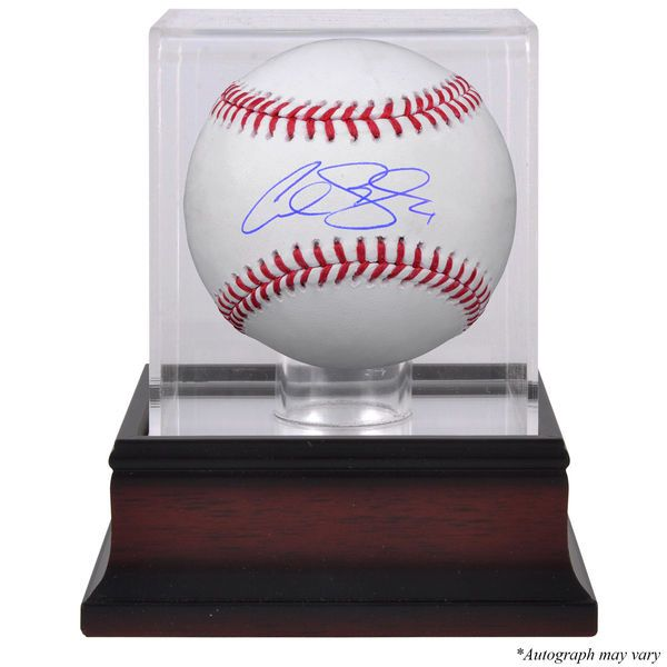 Alex Gordon Kansas City Royals Fanatics Authentic Autographed Baseball and Mahogany Baseball Display Case - $229.99