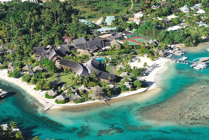 Aerial photograph of Moorea,Tahiti. Credits: Raymond Sahuquet